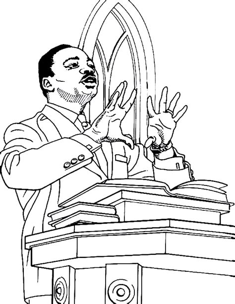 coloring pages dr martin luther king jr martin luther king jr coloring pages and worksheets best