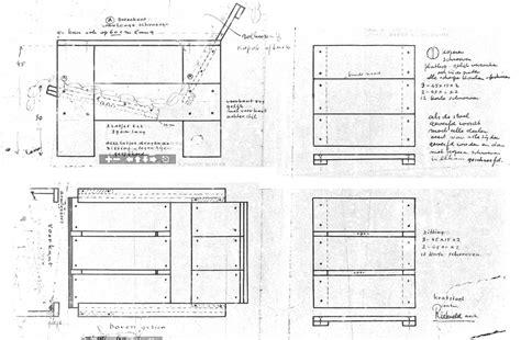 layout drawing en français gerrit rietveld crate chair plans a photo on flickriver