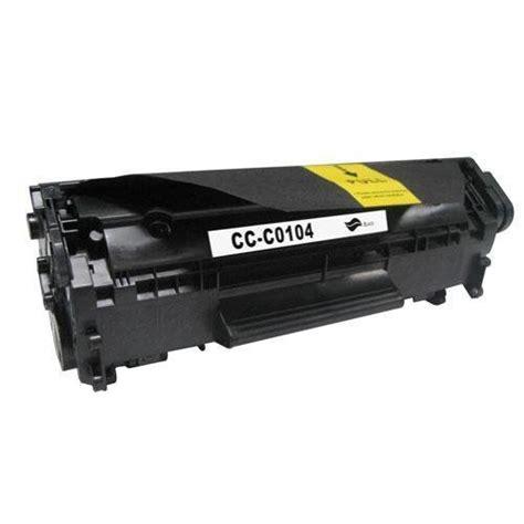 Replacement Printer Toner Cartridge Hp Crg 303 Fx 10 Q2612a Black