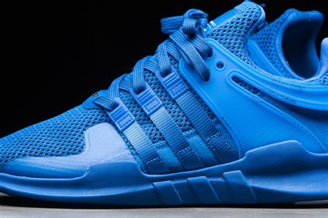 x support blue the adidas eqt support adv gets the blues kicksonfire