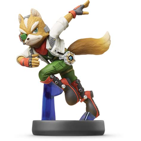 wii u figure nintendo fox amiibo figure wii u nvlcaaaf b h photo