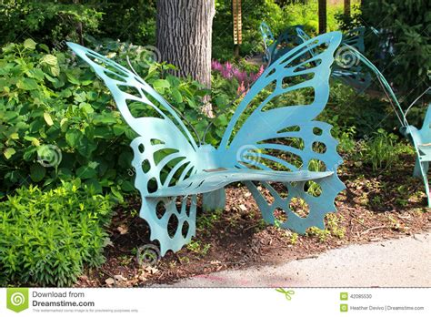 butterfly bench stock photo image  expression beauty