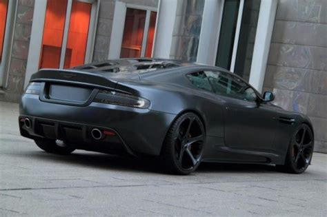 aston martin matte aston martin dbs matte black by anderson germany oopscars
