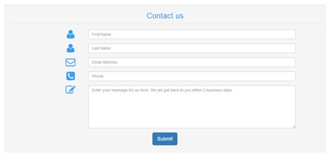 contact us template free contact form template free alfonsovacca