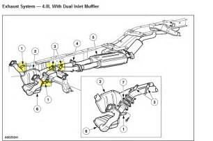 2000 Ford Explorer Exhaust System Diagram How Do I Locate And Replace Oxygen Sensors On 2000 Ford