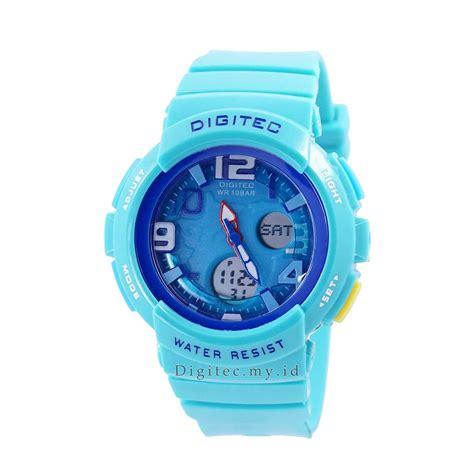 Jam Tangan Digitec Cewek Anti Air digitec dg 3034t tosca original jam tangan sport anti
