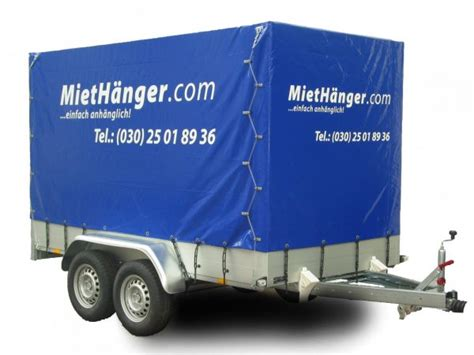 Anh Nger Mieten Teltow by Anh 228 Nger Und Dachboxen Preiswert Mieten In Berlin Und