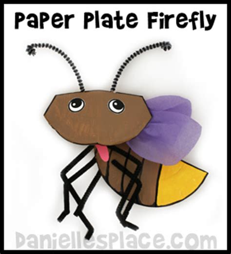 Firefly Papercraft - bugs and insect crafts