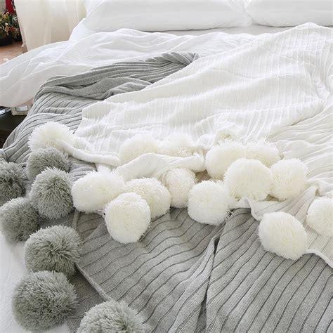 White Throws For Sofas by Pom Pom White Throw Blanket White Sofa Throw White