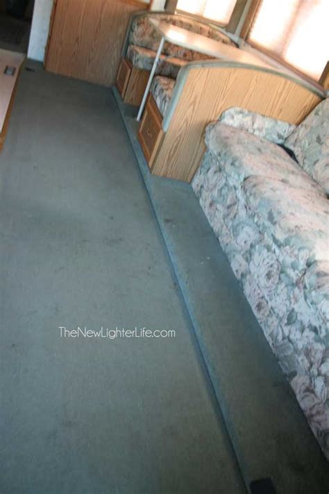 Replacing Vinyl Flooring by How To Replace Rv Flooring On A Raised Slide