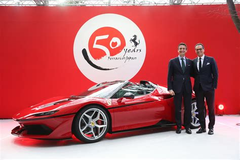 ferrari j50 black ferrari j50 limited edition revealed in japan at their