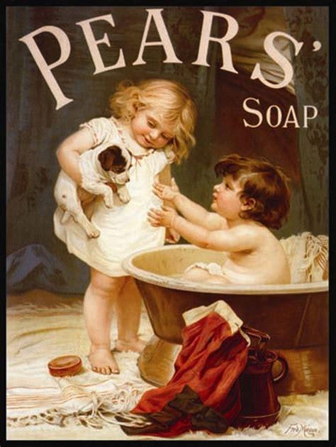 bathroom advert vintage retro bathroom metal sign plaque pears puppy soap advert wall picture ebay