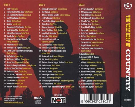 Various Artists For 3cd various artists the best of country 75 original recordings 2013 3cd not now
