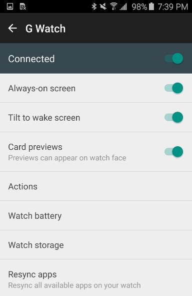 android app updates android wear app updated with new design and features doi toshin