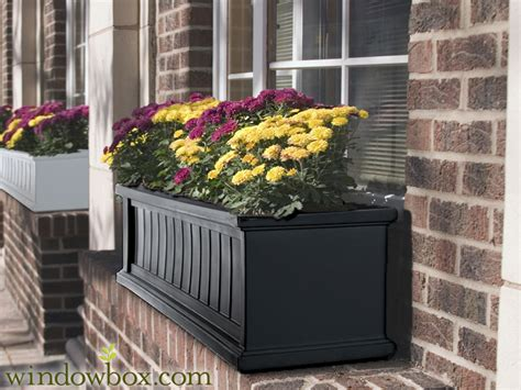 black window box promenade window box black vinyl window boxes window
