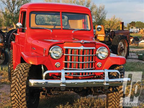 jeep station wagon lifted jeep willys truck restoration image 79
