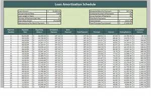 loan schedule template loan payment schedule template vertola