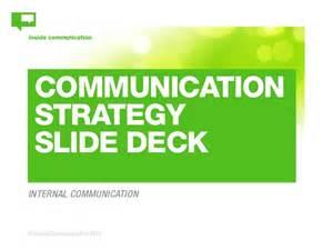 Communication Strategist by Communication Strategy Slide Deck