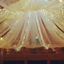 Tulle Ceiling Draping Diy Decor For Over Dance Floor Weddingbee Photo Gallery