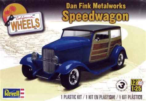 dan fink dan fink metalworks speedwagon 1 25 from revell