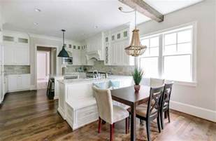 kitchen island with built in table beautiful kitchen islands with bench seating designing idea