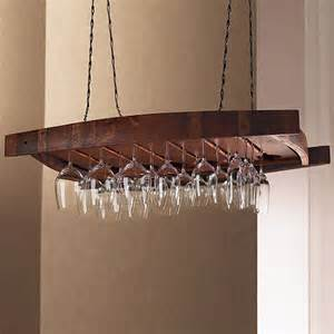 vintage oak hanging wine glass rack wine enthusiast