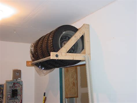 Tire Rack Design by Summer Tire Storage Ideas