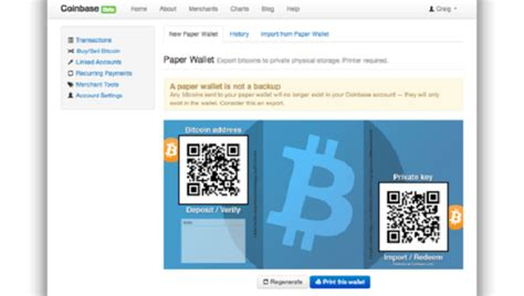 How To Make Bitcoin Paper Wallet - coinbase adds paper wallets for bitcoins coindesk