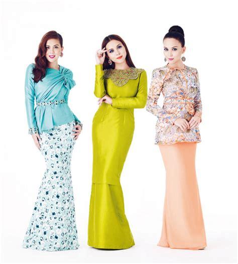 butik hnz koleksi baju kurung moden mewah 5 gambar siti saleha bergaya anggun dengan busana raya