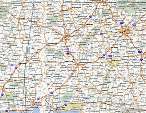 road maps and directions printable map of state road map of alabama road map