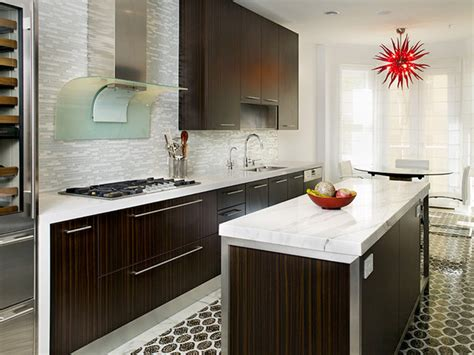 glass tile backsplash contemporary kitchen glass tile and steel contemporary kitchen hgtv