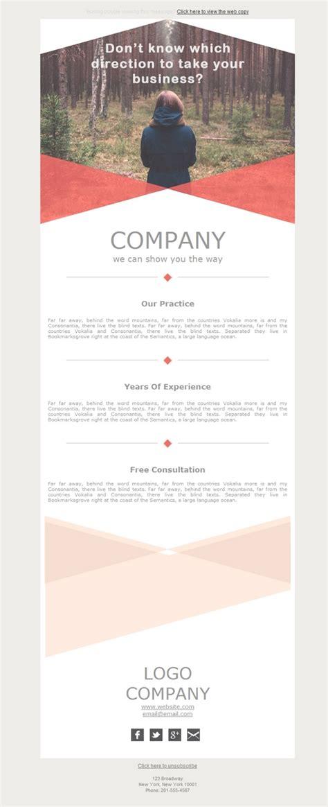 Plantilla De Newsletter Responsive Gratis Quot Accounting Direction Quot Para Email Marketing Mailify Accounting Newsletter Templates