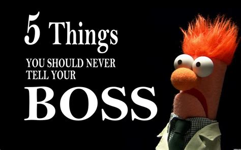 Things You Should Tell Your by Leadership Archives