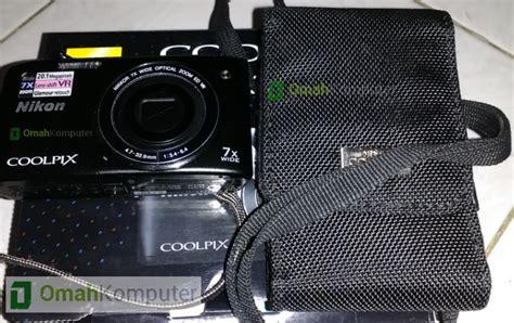 Kamera Nikon Coolpix S3500 jual kamera nikon s3500 series 2nd bergaransi omah
