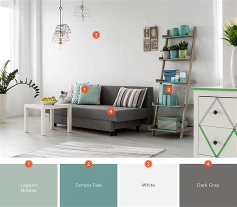 grey color room teal and gray living room peenmedia