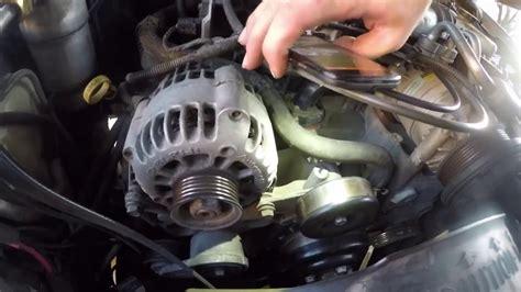 diy rep a serpentine belt on chevy blazer s gmc engine