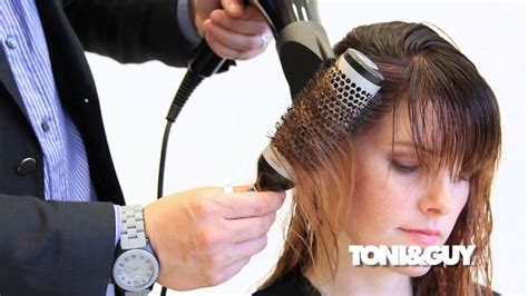 how to easy blowout blowdry routine wet to dry youtube the perfect blowdry technique ribboning with a round