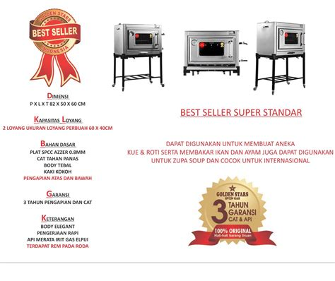 Oven Gas Golden Standard best seller oven gas indonesia tips memilih oven gas