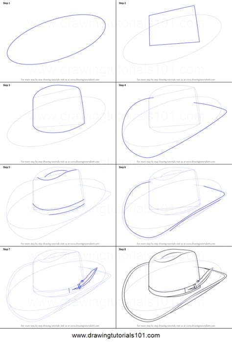 Drawing Step By Step by How Do You Draw A Hat Pencil Drawing