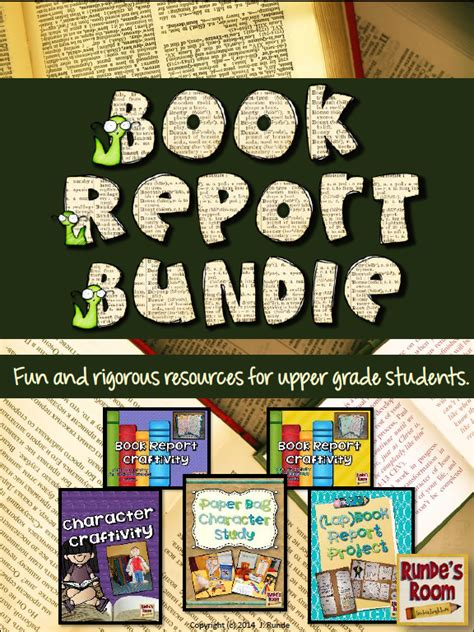 creative book reports for 5th grade book reports written by 5th graders