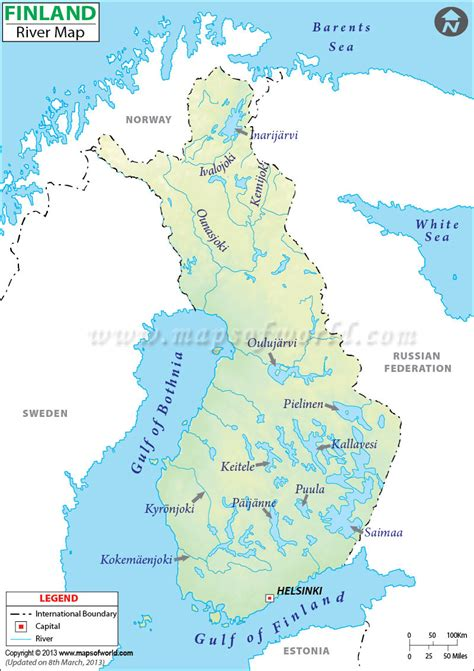 river map finland river map