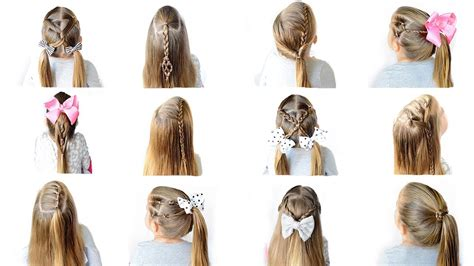 12 easy heatless school hairstyles and easy hairstyles