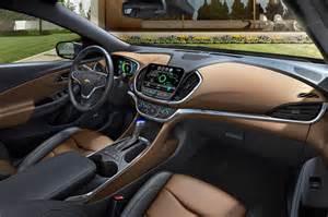 Chevrolet Interior 2016 Chevrolet Volt Review Range Release Date