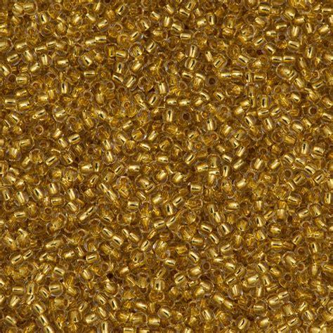 toho seed toho seed bead 11 0 24k gold lined 701 auracrystals