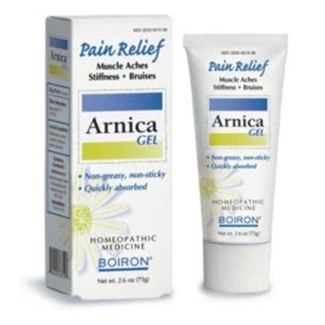 arnica tablets c section gesundheit arnica gel for bruises and muscle soreness