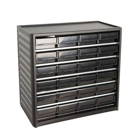 esd safe treston 174 small parts storage cabinet 24 drawers