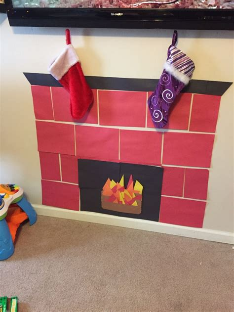 How To Make A Fireplace Out Of Paper - 1000 ideas about construction paper crafts on