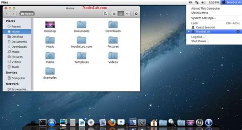 download themes ubuntu mac os x theme for ubuntu 13 04 raring ringtail 12 10 12