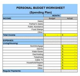 Expenses Excel Template by Sle Expense Sheet 8 Documents In Pdf Word