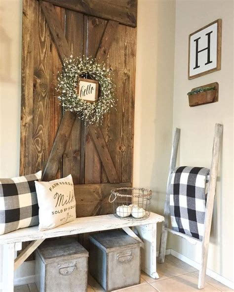 38 rustic farmhouse interior design ideas that will